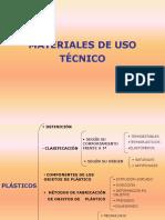 Clase de Plasticos