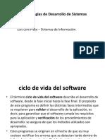 Clase Ciclo de Vida de Software