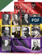 10 Protagonistas de La Segunda República Española