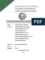 Caracteristicas Microscopicas de Maderas Coniferas