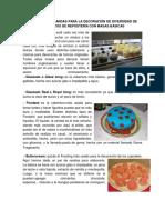 Coberturas Blandas Para La Decoración de Diversidad de Productos de Repostería Con Masas Básicas