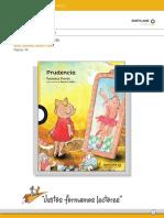 Programa de actividades lectura prudencia