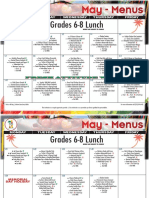2018 may lunch menu grades 6-8
