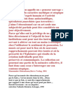 Harald Szeemann Citations CAPC Bordeaux