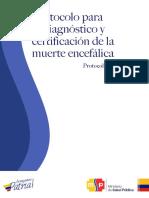 Protocolo Muerte Encefálica