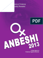 """Anbeshi"" Status and Dimension of Violence against Women, Reality Revealed 2013"