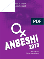 Anbeshi 2015 status and Dimensions of Violence Against Women Reality Revealed
