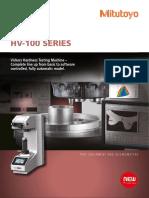 Mitutoyo - Twardościomierze Vickers HV-100 Seria - PRE1430(2) - 2014 EN