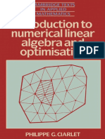 (Cambridge Texts in Applied Mathematics) Philippe G. Ciarlet-Introduction to Numerical Linear Algebra and Optimisation-Cambridge University Press (1989)