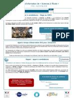 Lettre d'Info SaE n32