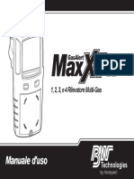 GasAlertMax XT II OpsManual(D6580 0 IT)
