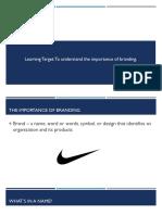 artifact 2 - branding ppt
