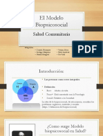 El Modelo Biopsicosocial