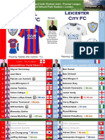 Premier League 180428 week 36 Crystal Palace - Leicester 5-0