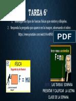 TAREA FÍSICA 6° A-B
