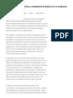 Comunicación Asertiva, Competencia Básica en La Empresa - GestioPolis