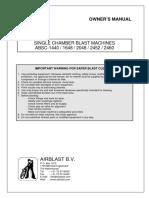 ABSC 2452 Blast Machine