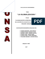 GLOBALIZACION ENFERMERIA