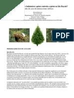 Estudio de Caso Lobos Alces Abetos
