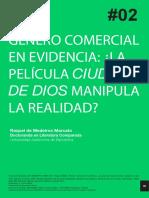 GÉNERO COMERCIAL EN EVIDENCIA