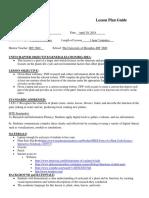 idt 3600-second lesson plan