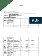 199042419 Model Plan de Lectie Engleza