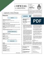 Boletin Oficial 20-09-10 - Primera Seccion