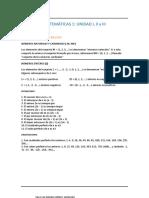 Primera Unidad Matematica