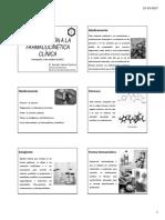 01. Introducción a La PK Clínica