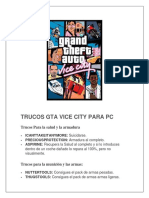 Trucos Gta Vice City Para Pc