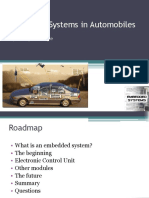 Embedded Systems in Automobiles