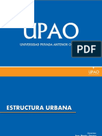 Estructura Urbana