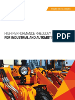 Brochure High Performance Rheology Modifiers for Industrial and Automotive Coatings