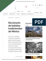 Diccionario de Bebidas Tradicionales de México _ México Desconocido
