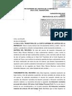 Casación 2634 2015 Tacna en Qué Casos El Derecho de Alimentos Genera Ineficacia en Un Acto Jurídico