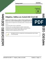 Civil3D 2012 Capitulo 2 - Objetos Estilos y Configuraciones