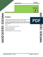 Civil3D 2012 Capitulo 4 - Puntos