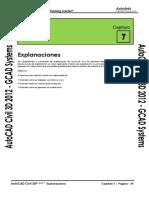 Civil3D 2012 Capitulo 7 - Explanaciones