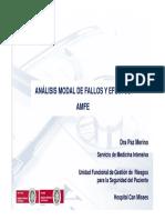 Analisis Modal de Fallos y Efectos
