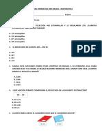 Formativa Matematica 3ro Basico - Sumas Restas Redondeo