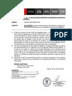 Nota Informativa Sobre Prostesta Pacifica de Los Familiares y Deudos Del Accidente de Transito.