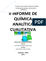 Informe 2 de Quimica Analitica