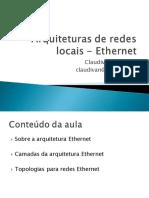 Arquitetura Ethernet