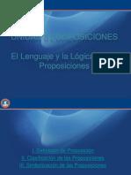 El Lenguaje y La Logica de Proposiciones