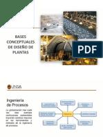 Bases de Diseño en plantas metalúrgicas