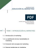 Esquemas de Introduccion Al Marketing