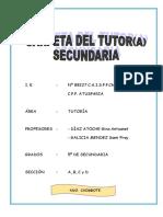 Carpeta de Tutoria 2015 Final