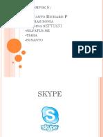 Sdigit (Skype)( Kelompok 5 x Akt 1)