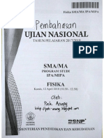 Pembahasan Soal UN Fisika SMA 2018 Paket 1 -Pak-Anang.blogspot.com