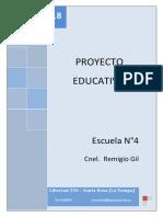 PROYECTO EDUCATIVO 2018